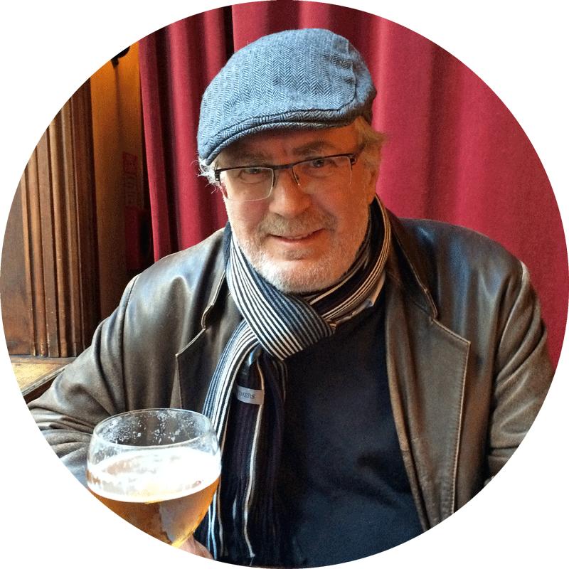 Forfatter og musikkjournalist Jan Ditlev Hansen